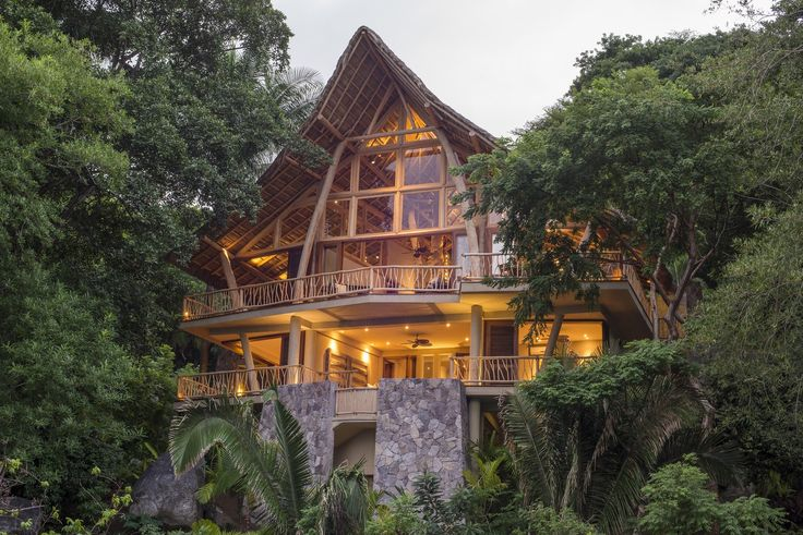 The Tree House is a 3 bedroom, 4-bath luxury rental home located in the distinctive Punta Sayulita Residential Community.