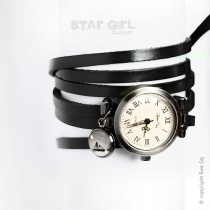 Star Girl Classic - Rower - bransoletka zegarek - silver (proj. Ewa Saj)