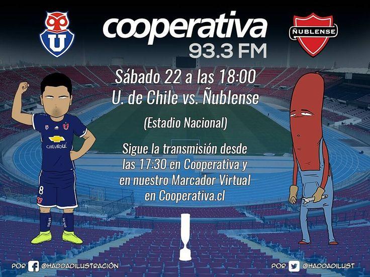 La revancha entre Universidad de Chile y Ñublense se vive en Cooperativa