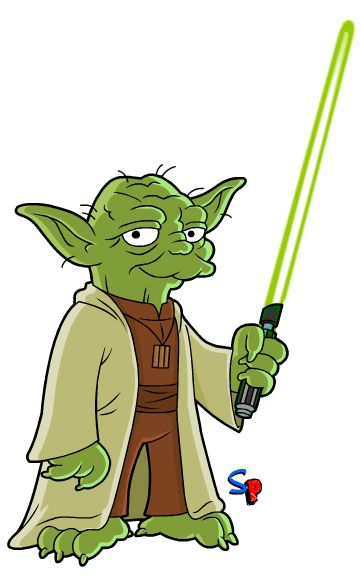 Springfield Punx Yoda | Simpsons characters, Simpsons art ...