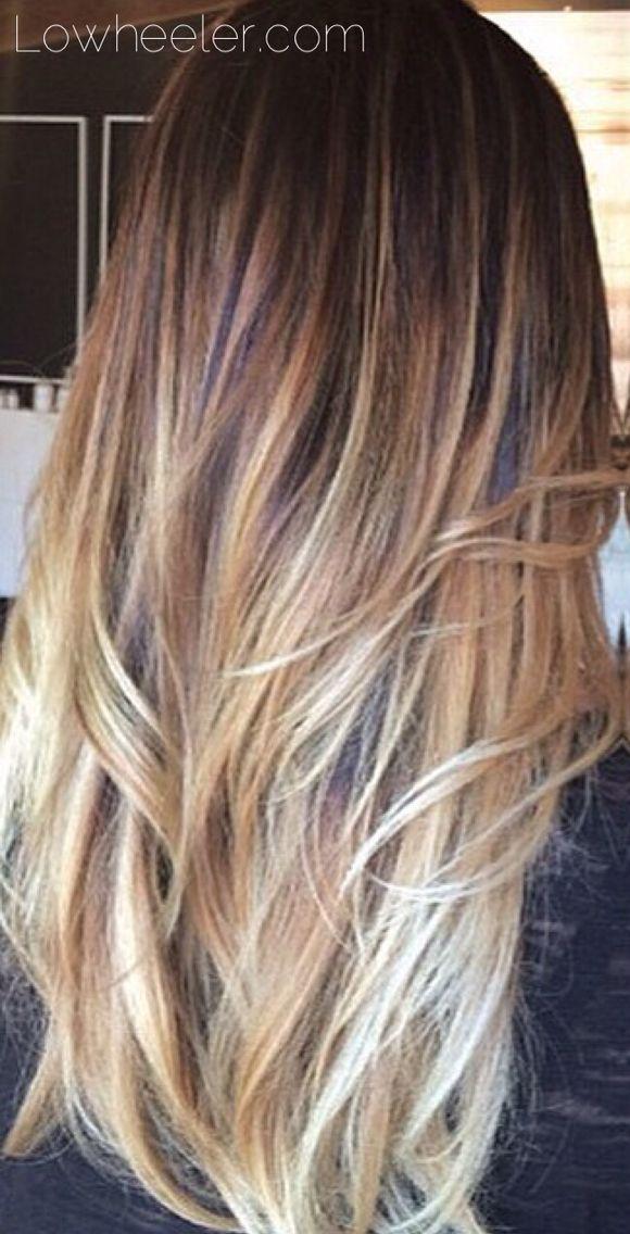 Golden Balayage ombré colormelt by Lo Wheeler. Lowheeler.com Instagram @lowheeler_hairtherapy