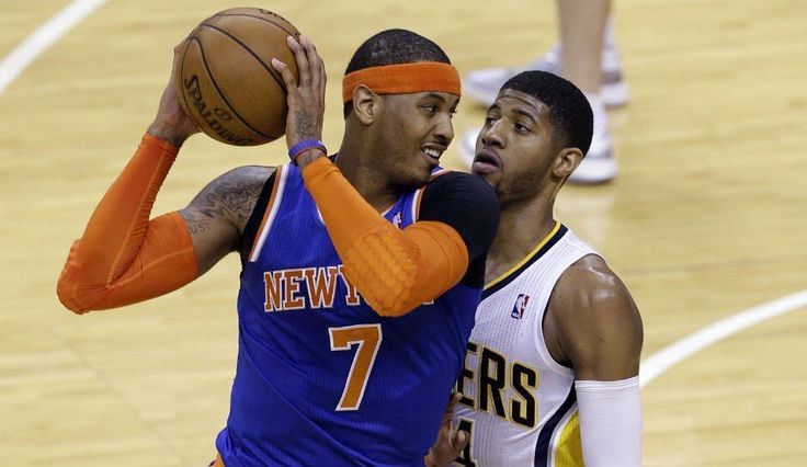 Melo tells SiriusXM that there was a deal in place on draft night to send he & Paul George to Cleveland. That can't make Cavs Fans happy. #repre23nt