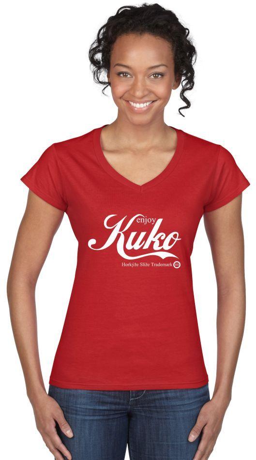 Dámske tričko Horkýže Slíže - Enjoy Kuko
