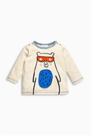 Acheter T-shirt effet 3D ours multicolore (0 mois - 2 ans) disponible en ligne dès aujourd'hui sur Next : France