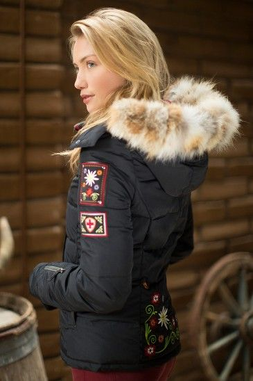 The Sabin Ultra-fill Luxury Jacket $355.00 Alpine luxe meets technical function.