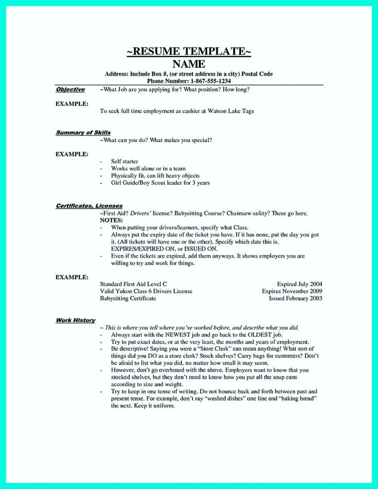 Awesome Terrible Mistakes To Avoid When You Make Your Cashier Resume Resume Template Resume Cover Letter For Resume