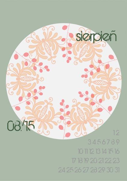 Here's a free printable 2015 calendar for all of you who loves flowers and nature. You can download it from: http://www.kaja.lebork.pl/KAJA-Kalendarz-2015.html and print it for you or your friends! #kalendarz2015 #sierpien #kwiaty #august