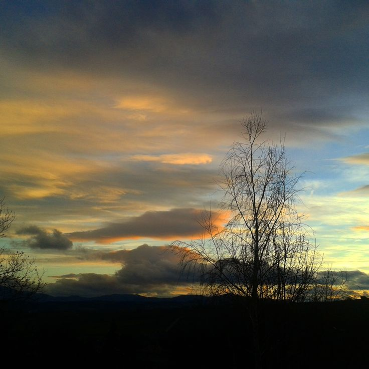 Dreamy sky over my little village:) Poland can be beautiful:)