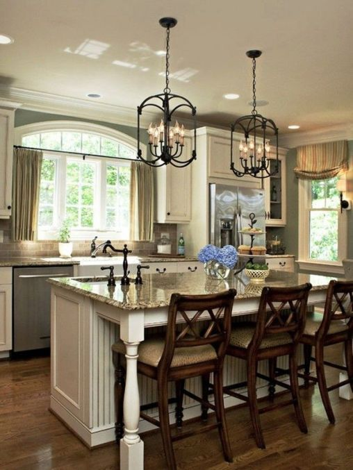 Love This Kitchen Island Lighting Ideas (36)