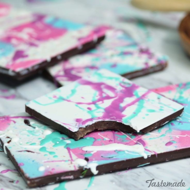 Show off your artistic side while stepping up your chocolate game.