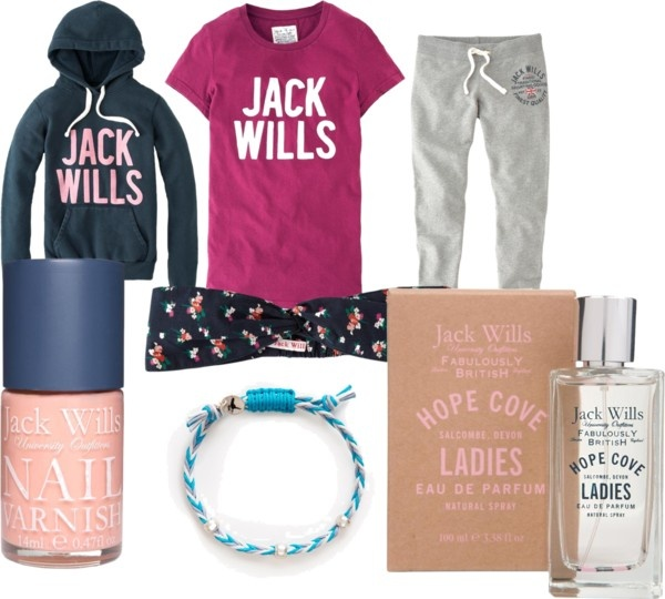 """Just relaxing.. Jack Wills style"" by lilmissjojo ❤ liked on Polyvore"