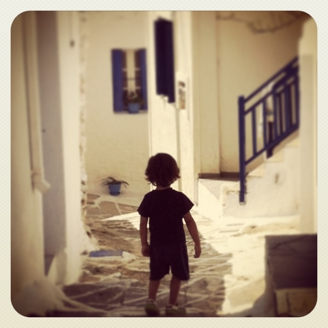 wandering in Chora