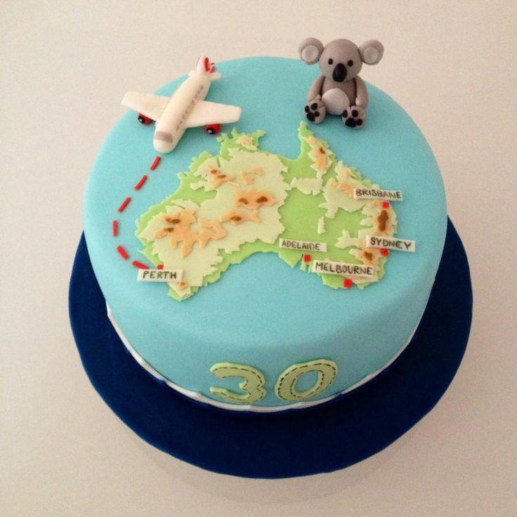 Australia cake - Cake by Dasa