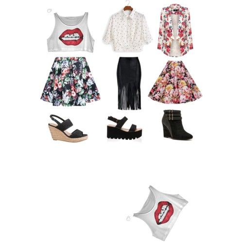 our outfit!♡ by : novira,adila,& dieva♡ by adilaanindya on Polyvore featuring polyvore fashion style Oasis Qupid maurices