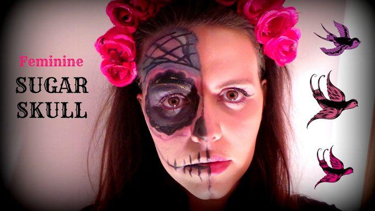 TUTORIAL: Sugar Skull Makeup ☠