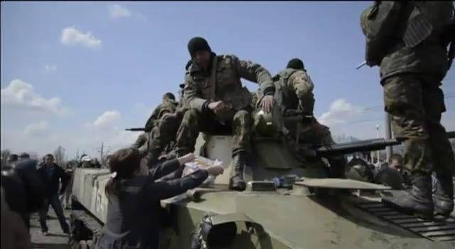 Los prorrusos frenan la ofensiva ucrania