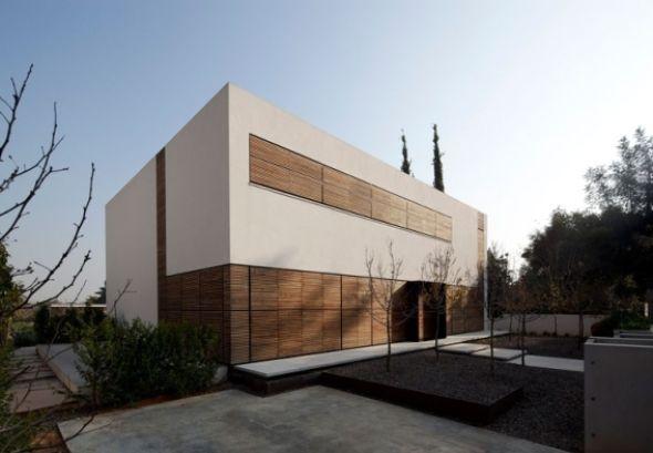 La casa de láminas de madera - Tel Aviv, Israel