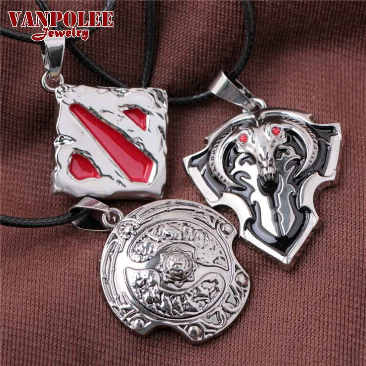 >> Click to Buy << Vanpolee  Necklace 2016 Hot Network Game Dota 2 Sign Pendant Necklace Enamel Necklace DOTA 2 Roshan Shield Pendants Necklace #Affiliate