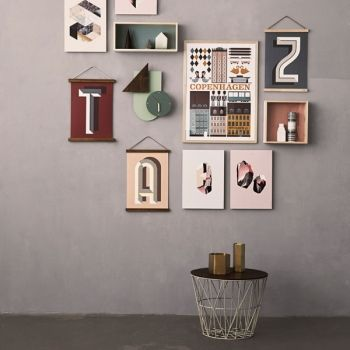 Ferm Living Wooden frames small, maple | Accessories | Decoration | Finnish Design Shop