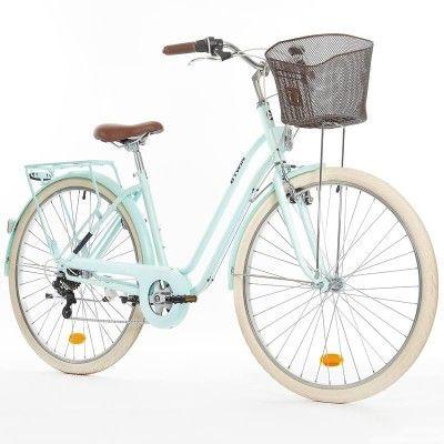 GROUPE 6 Vélos, cyclisme - VELO VILLE ELOPS 520 CADRE BAS B'TWIN - Vélo Ville