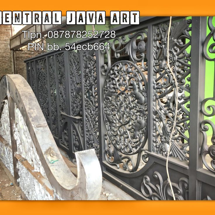 Gate wrought iron