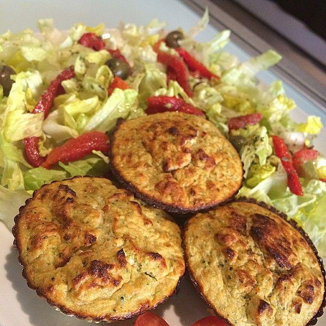 """Muffins de Brócoli y atún """"fit"""". yanoestoygorda"""