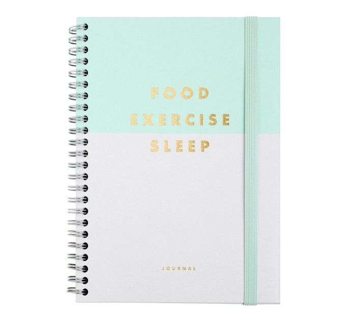 Kikki K food-exercise-sleep-journal