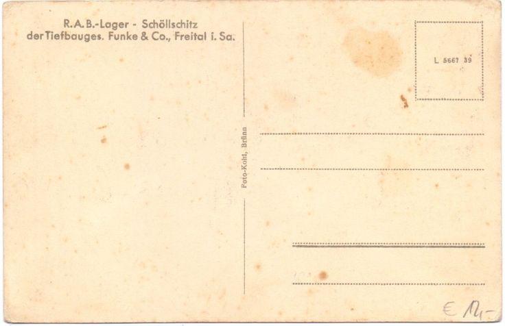 AK Reichsautobahn-Lager Brünn-Schöllschitz - Brno-Želešice um 1940   eBay