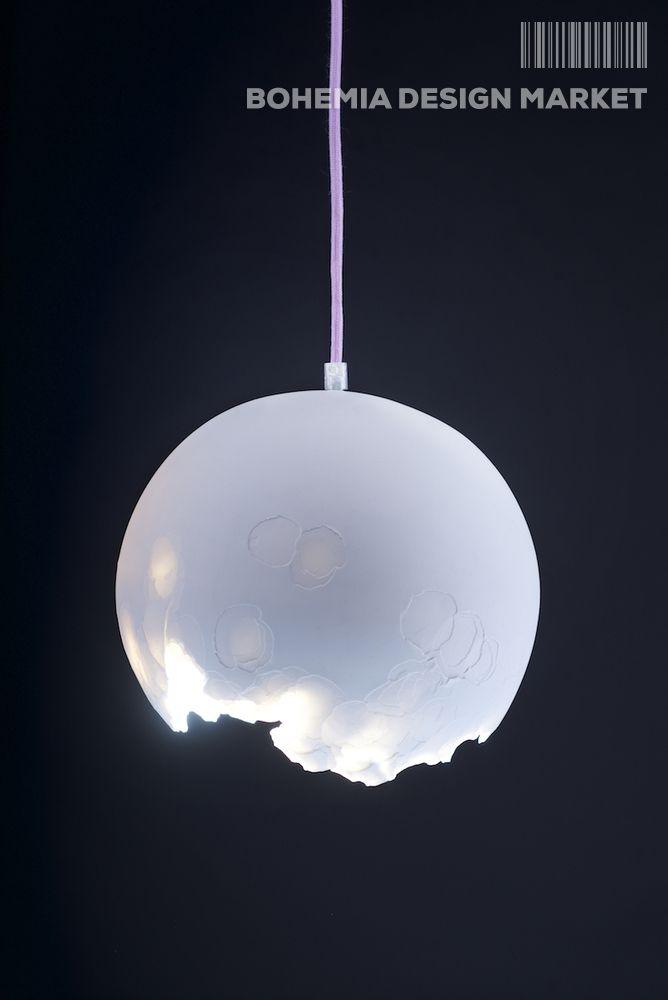 >> Porcelain Light by Nalejto<<  Enjoy Uniqueness & Quality of Czech Design  http://en.bohemia-design-market.com/designer/nalejto #discover #original #czech #design #top #handmade #porcelain #interior #light #made #by #young #designer & #unique #technique #loveit   