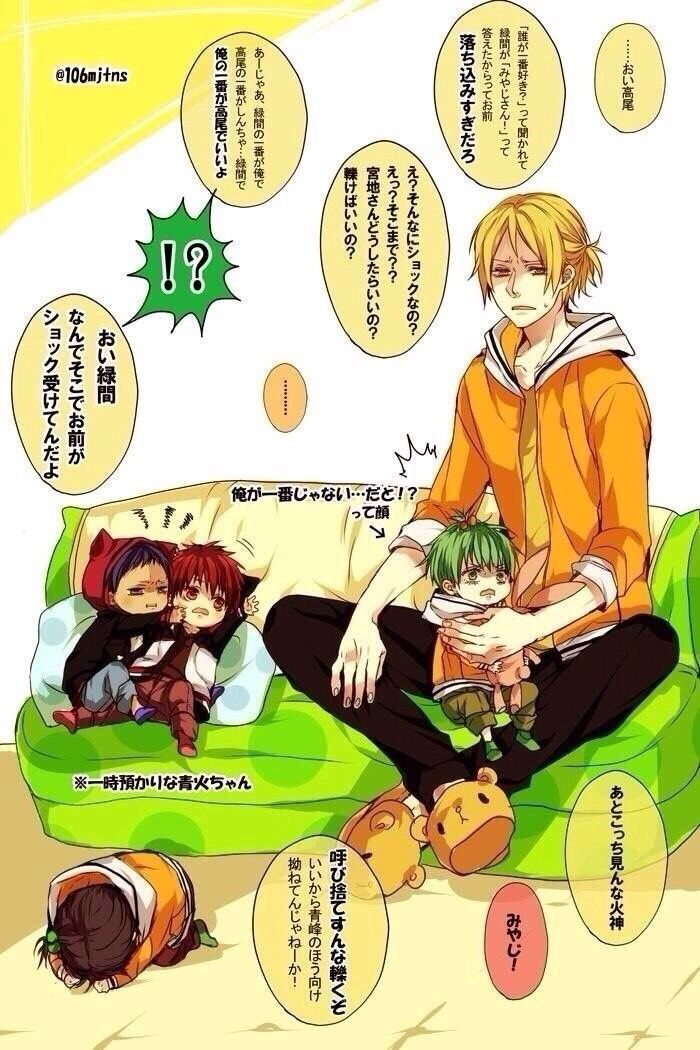 Midorima looks traumatized! Wtf does that say?!