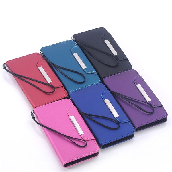 Magnetic Frosted Leather Stand Case Cover For Samsung Galaxy S6 G9200