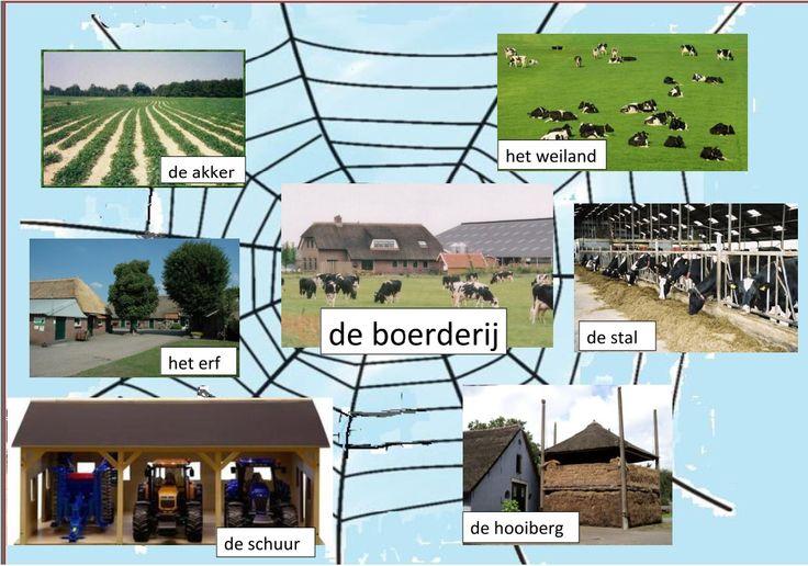 woordveld de boerderij