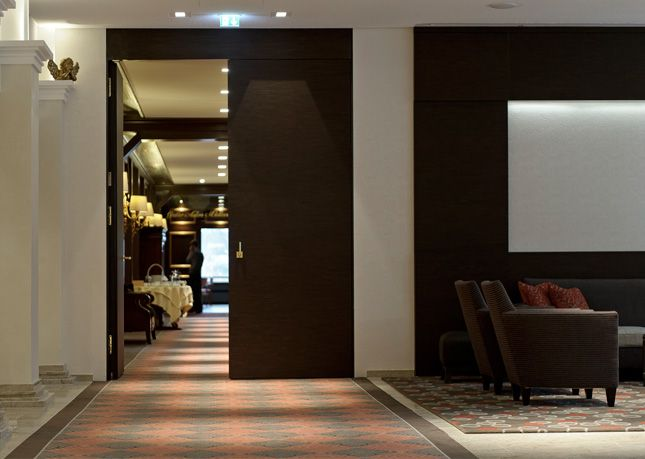 feuerhemmende Tür Modell ULTRA-EXCLUSIV im insel Hotel Heilbronn