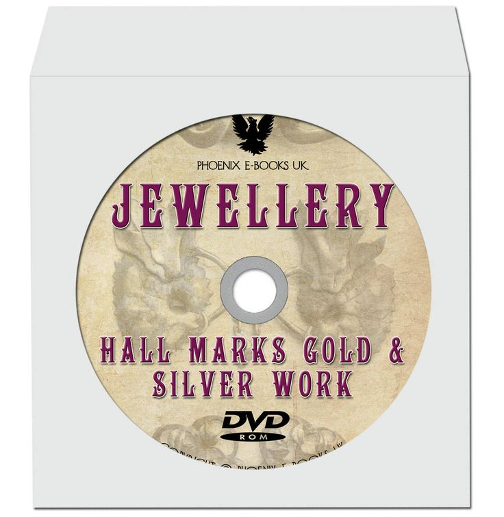 JEWELLERY Hall Marks Gold & Silver Work, 94 Vintage Books and Catalogs PDF on DVD-Rom Jewelry by PhoenixEbooksUK on Etsy