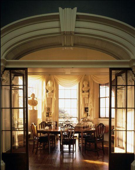 Tea Room, Thomas Jefferson's Monticello, National Historic Landmark, Charlottesville, Virginia