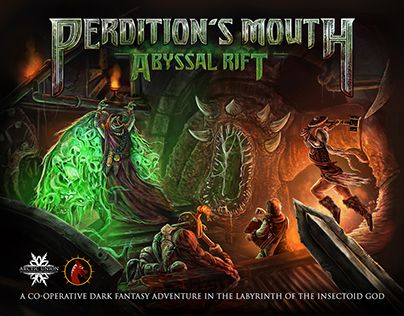 "Check out new work on my @Behance portfolio: ""Perdition's Mouth Abyssal Rift…"