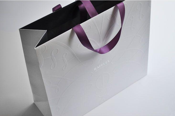 Raffles Singapore shopping bag