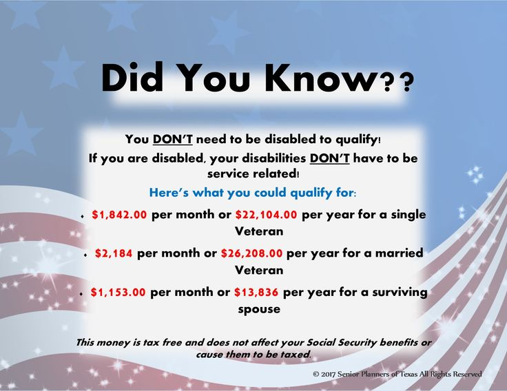 ATTENTION VETERANS!!! These are the benefit amounts you could qualify to help with your medical needs and expenses. #elder #care #nursing #veterans #senior #seniors #texas #military #benefits #soldier #va #medical #financial #help #planning #seniorplannersoftx