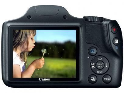 """Câmera Digital SemiProfissional Canon SX520 HS - 16.0MP LCD 3"""" Zoom Óptico 42x Full HD Cartão 8GB com as melhores condições você encontra no Magazine Shopcarl. Confira!"""