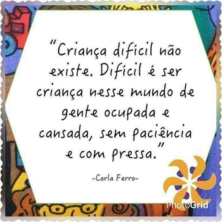 """62 curtidas, 2 comentários - Psicóloga Rafaella Dias (@psicologa_rafaella_dias) no Instagram: """"Difícil mesmo é ser criança... Dê mais atenção, mais amor... elas precisam disso! ⭐Procure um…"""""""