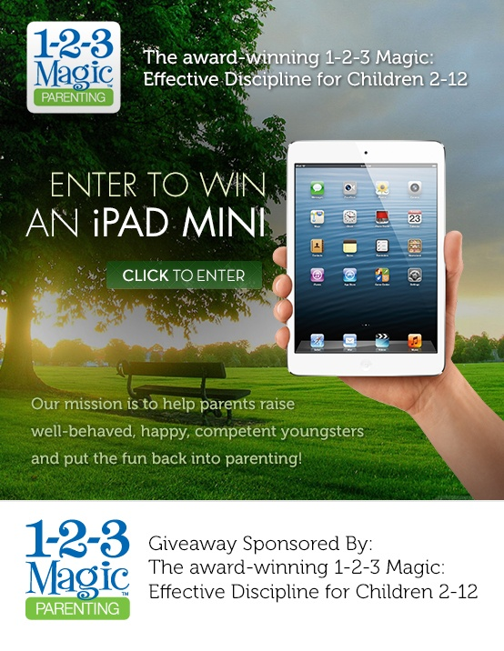 1-2-3-Magic Parenting is a good system (and you might win an iPad Mini!)