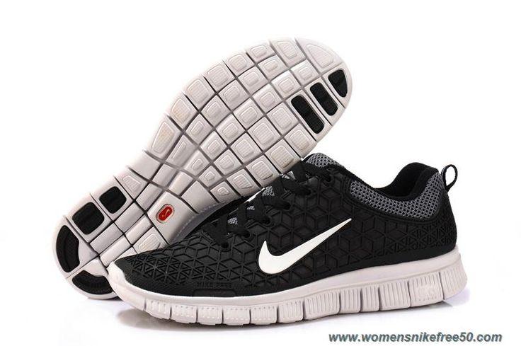 Cheap Black White Nike Free 6.0 Mens