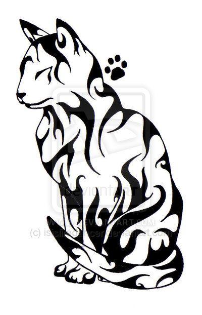 Tattoos Sketch, cat #tattoo #tattoossketch #sketch