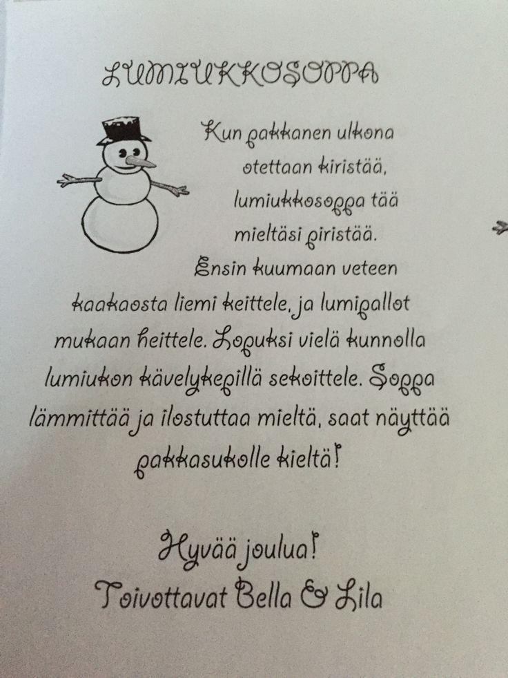 Lumiukkosoppa