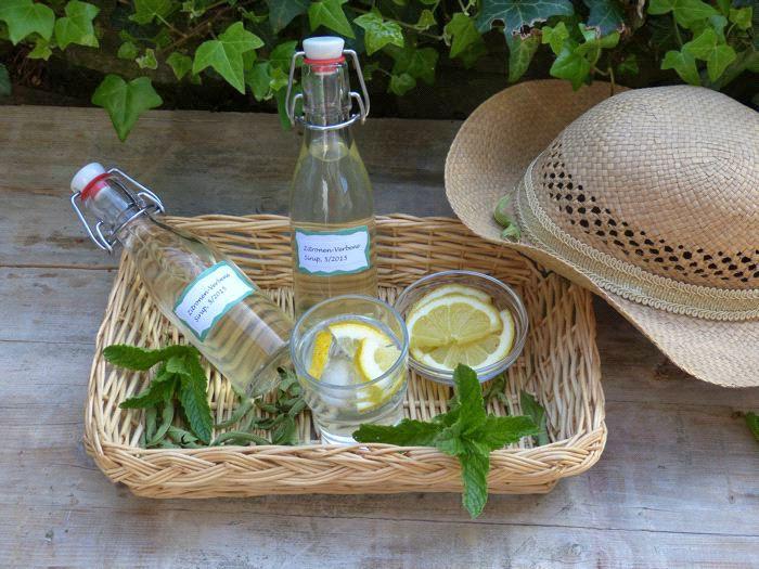 Zitronenverbene Sirup selber machen | Mein schönes Land bloggt