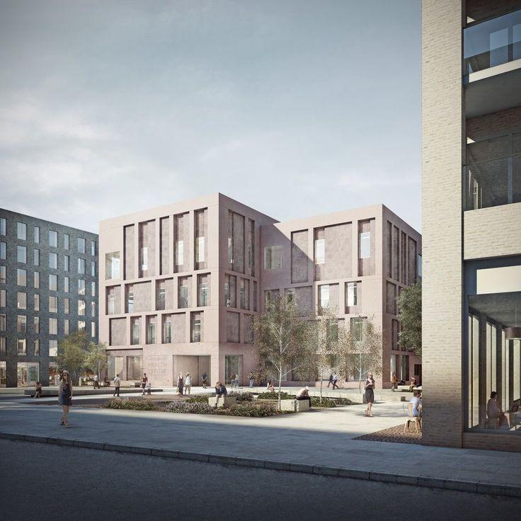 Duggan Morris . Aylesbury new community health building . London (2)