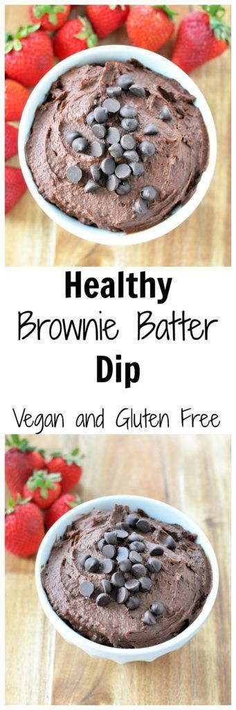Try this Healthy Brownie Batter Hummus for a sweet snack. Only 4 simple ingredients, and it comes with a boost of protein and fiber! Vegan and gluten free