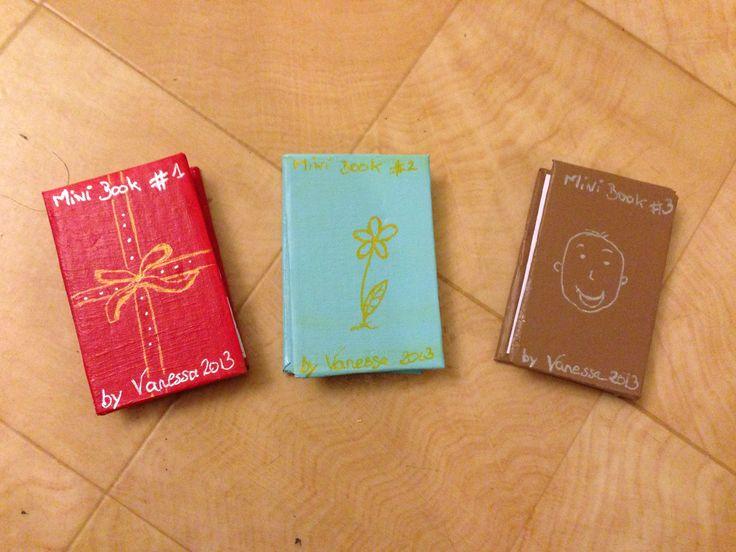 Gift Box pour ma Tje - les mini books en accordéons