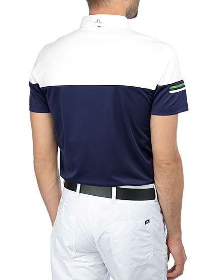 J Lindeberg Official Store, Alessandro - Reg Fieldsensor 2, blue, Golf Jersey, 36MG566485672