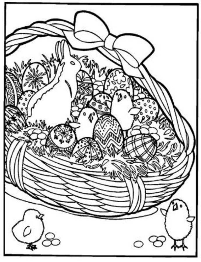 17 Best Images About Outlines Easter